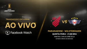 Athletico Paranaense x Wilstermann - Facebook