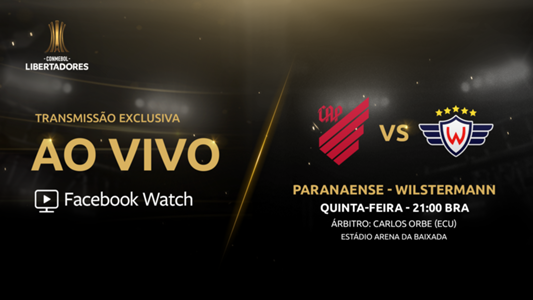 Athletico Paranaense x Wilstermann - Facebook