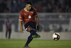 Silvio Romero Independiente CONMEBOL Sudamericana AFP