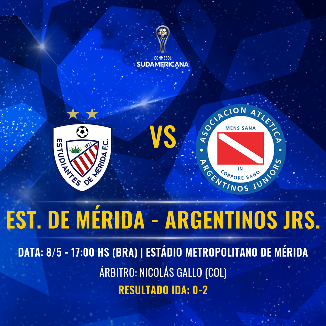 Estudiantes Mérida vs Argentinos Juniors