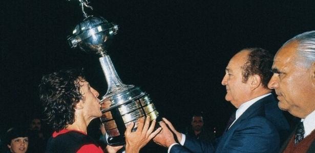 Zico - Flamengo - Libertadores 1981