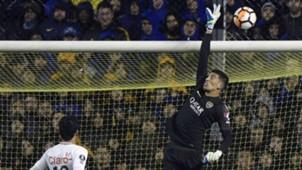 Boca-Libertad Copa Libertadores Esteban Andrada