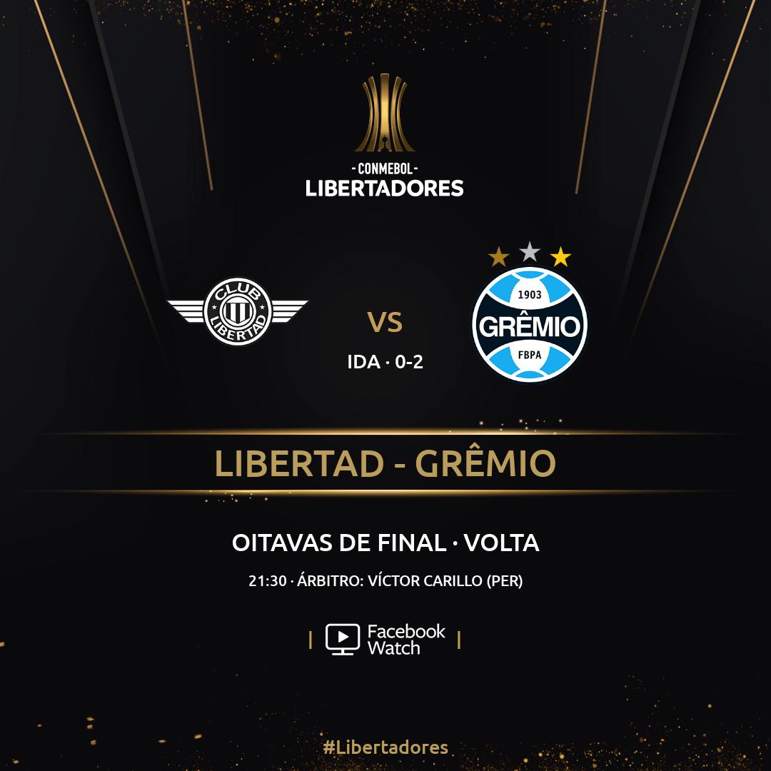 Libertad x Grêmio - Libertadores