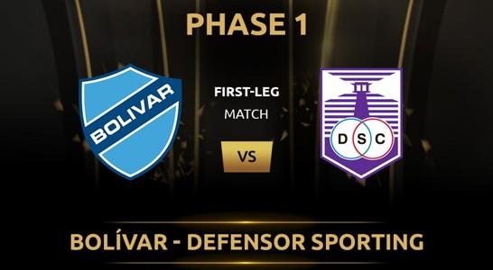 Bolivar vs Defensor
