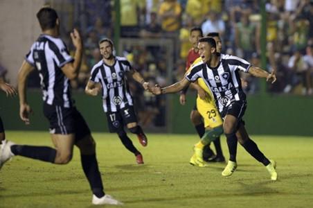Botafogo comemora classificação