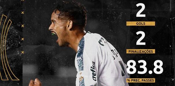 Scarpa (Palmeiras) - melhor da rodada