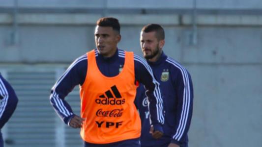 Matías Suárez Selección Argentina