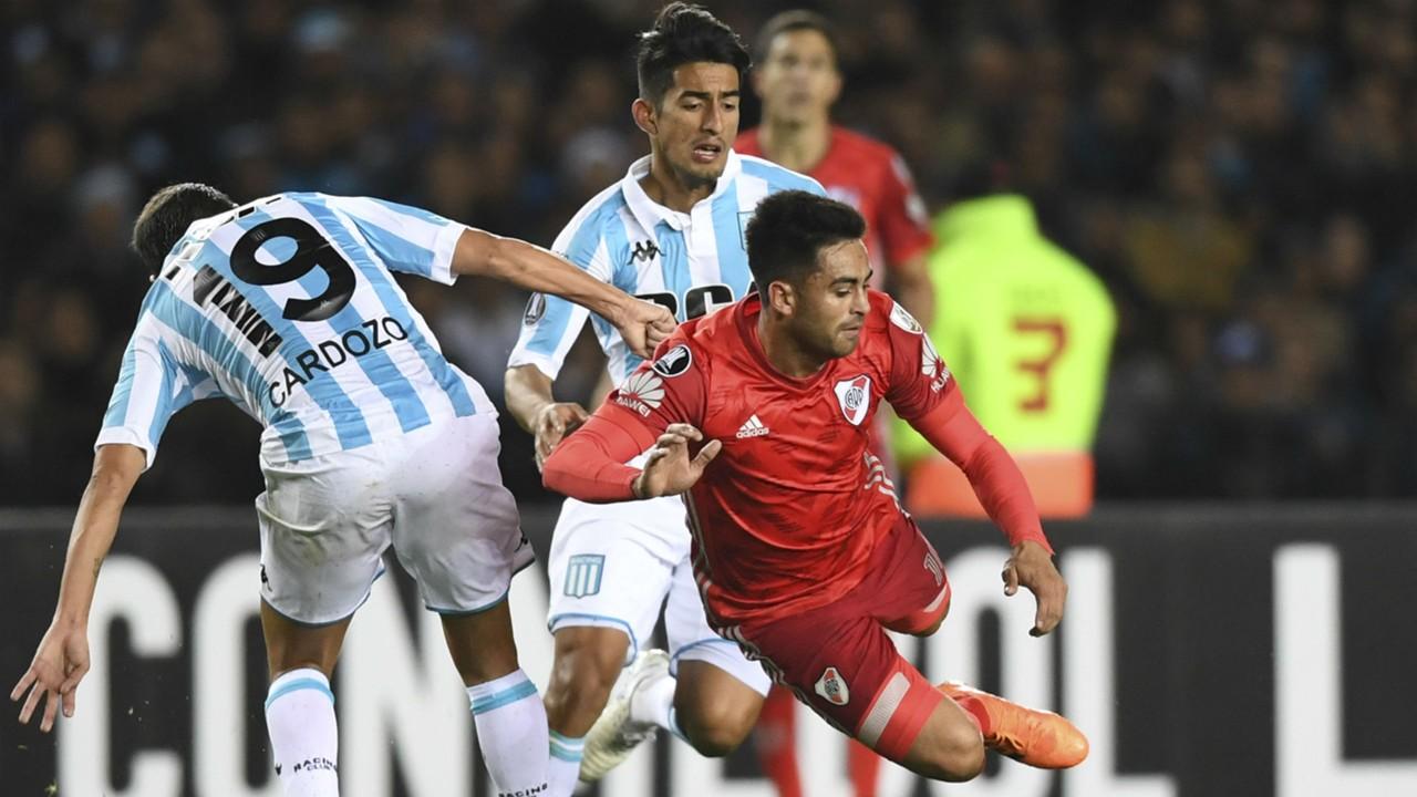 AFP-Racing-River Copa Libertadores Gonzalo Pity Martínez