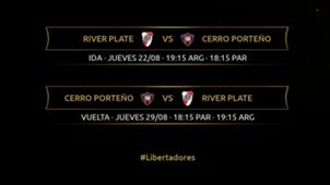 River Cerro Porteño Copa Libertadores