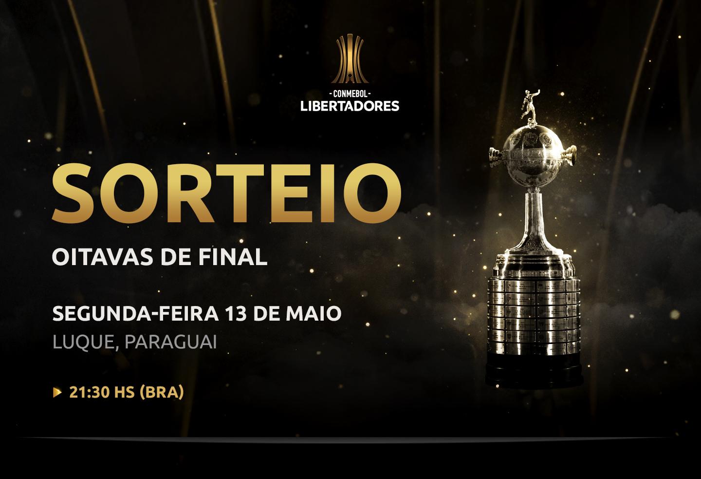 Sorteio oitavas Copa Libertadores