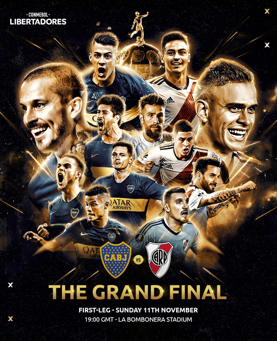 1st Leg Copa Libertadores Final Sunday