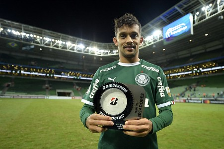 Scarpa - melhor em campo Palmeiras x San Lorenzo - Libertadores