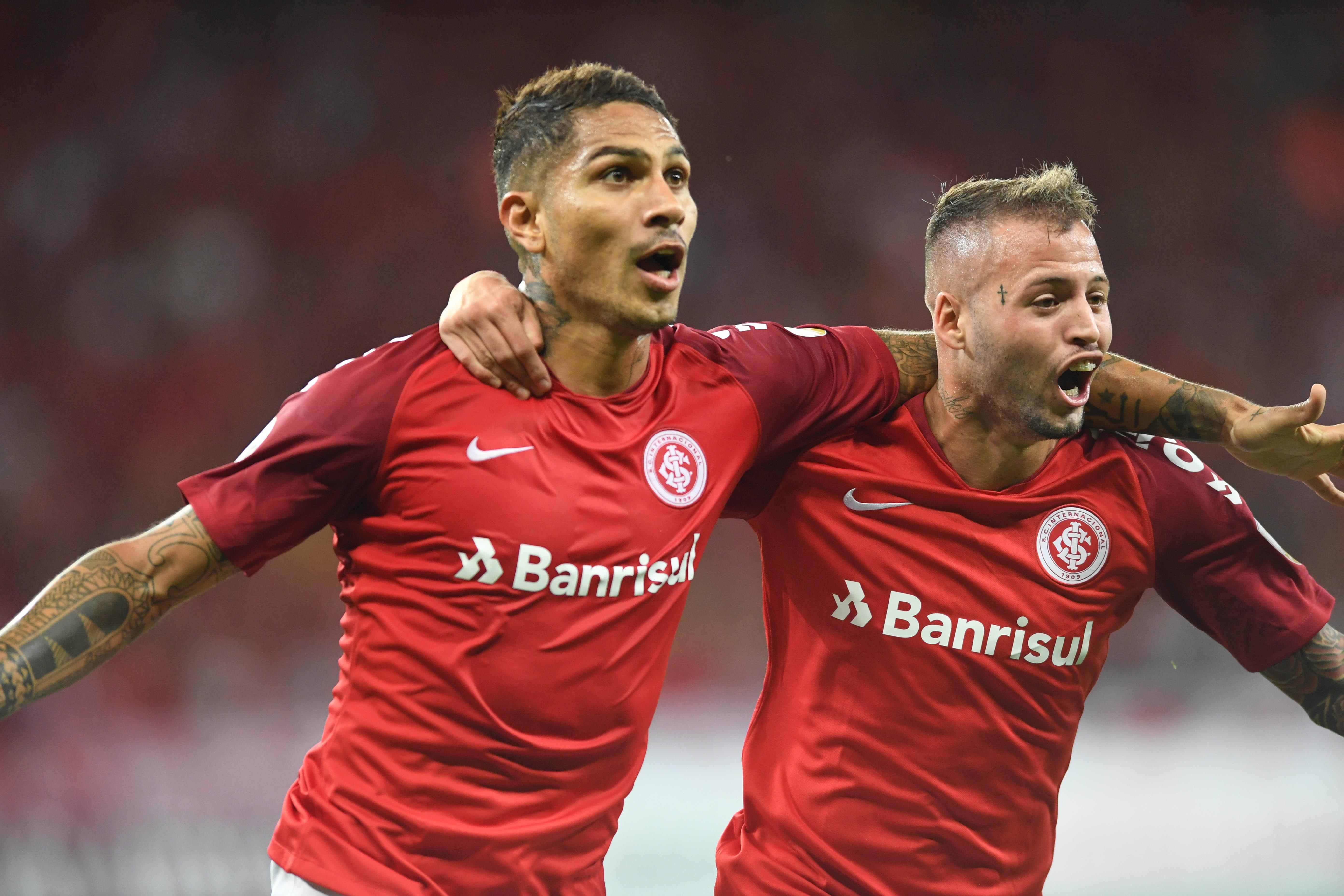 Internacional Palestino Guerrero Nico Lopez Copa Libertadores