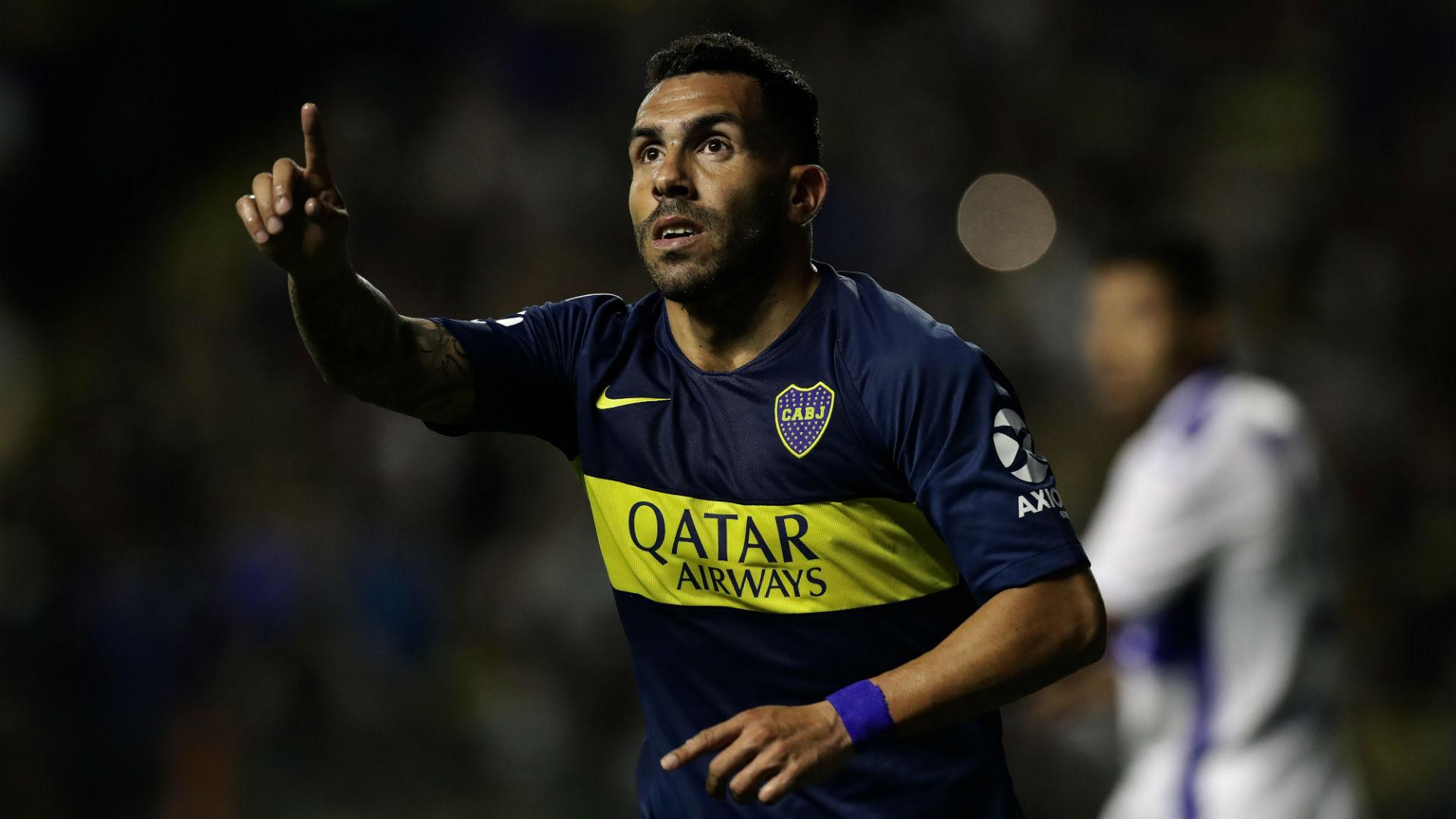 AFP Carlos Tevez Boca Juniors Copa Libertadores