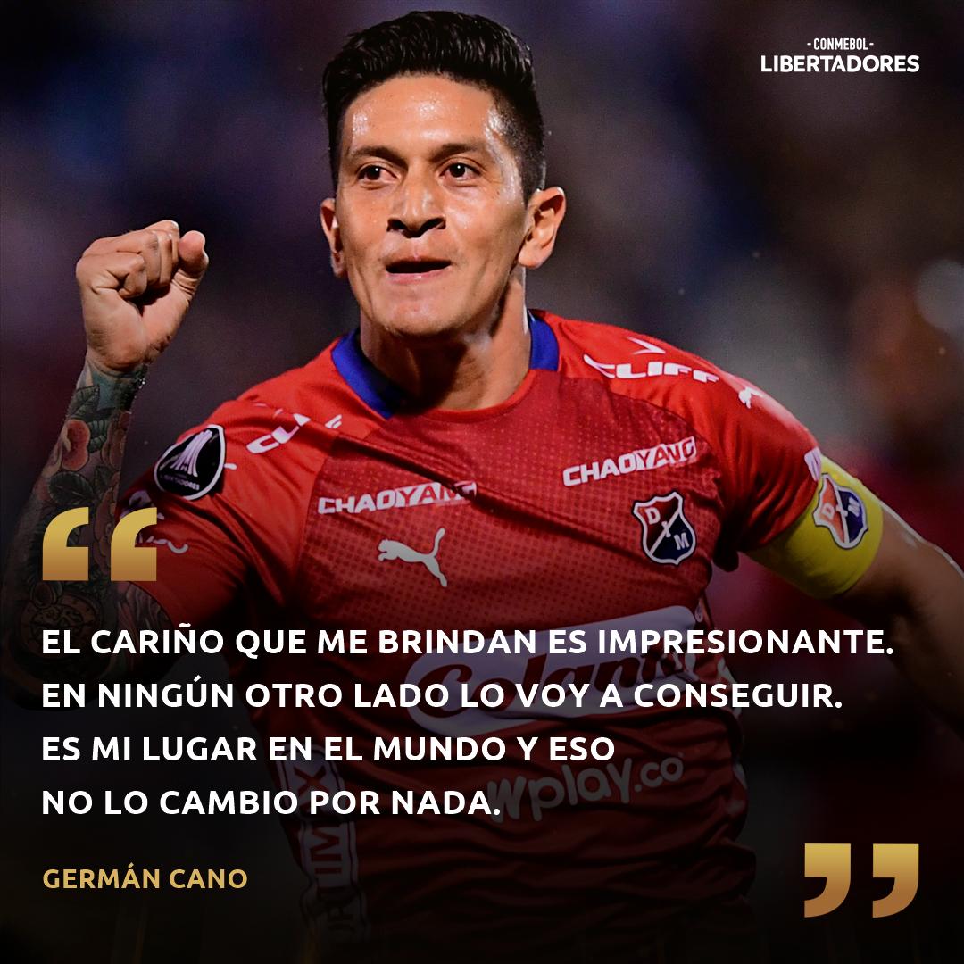 CONMEBOL Libertadores German Cano Independiente Medellin DIM PS