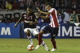 Victor Cantillo Marcelo Cirino Junior Barranquilla Atletico Paranaense Copa Sudamericana 2018