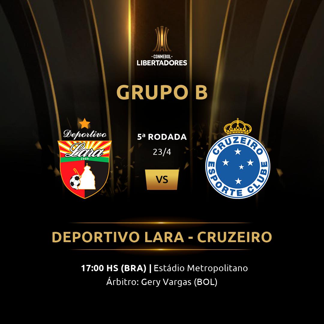 Deportivo Lara vs Cruzeiro