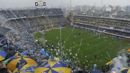 AFP Bombonera Boca-River Copa Libertadores