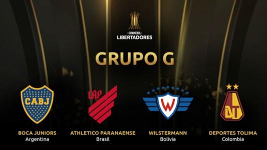 Grupo G Copa CONMEBOL Libertadores