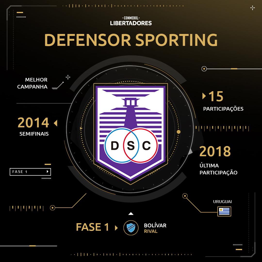 Arte Defensor Libertadores 2019