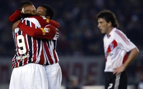 River Plate x São Paulo - 2005