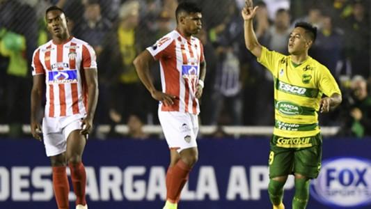 AFP Defensa y Justicia Junior Barranquilla Copa CONMEBOL Sudamericana 01112018 Nicolas Fernandez