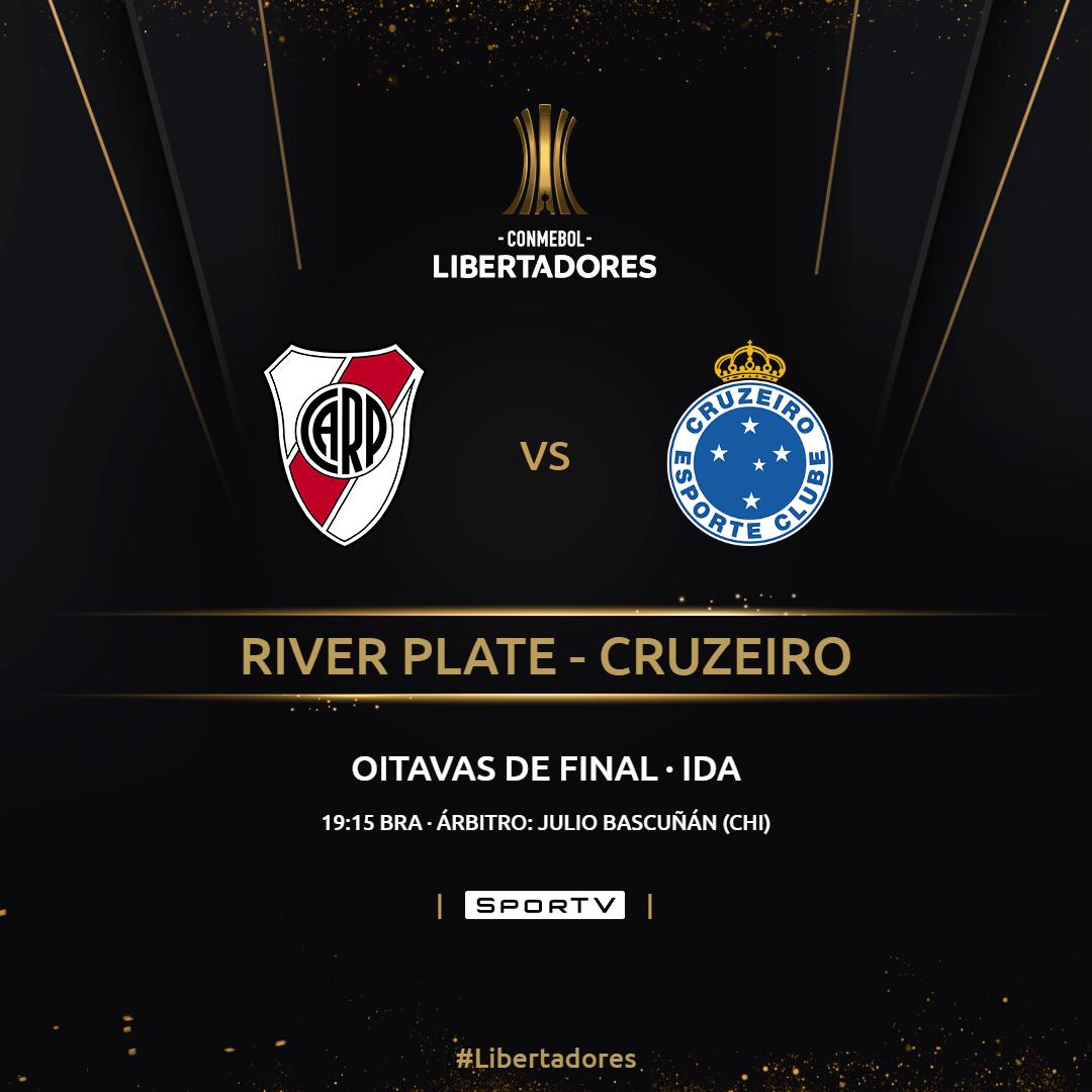 Placa River Plate - Cruzeiro