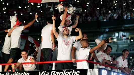 AFP River festejo campeón Copa Libertadores 2018