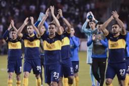 Los festejos de Boca AFP