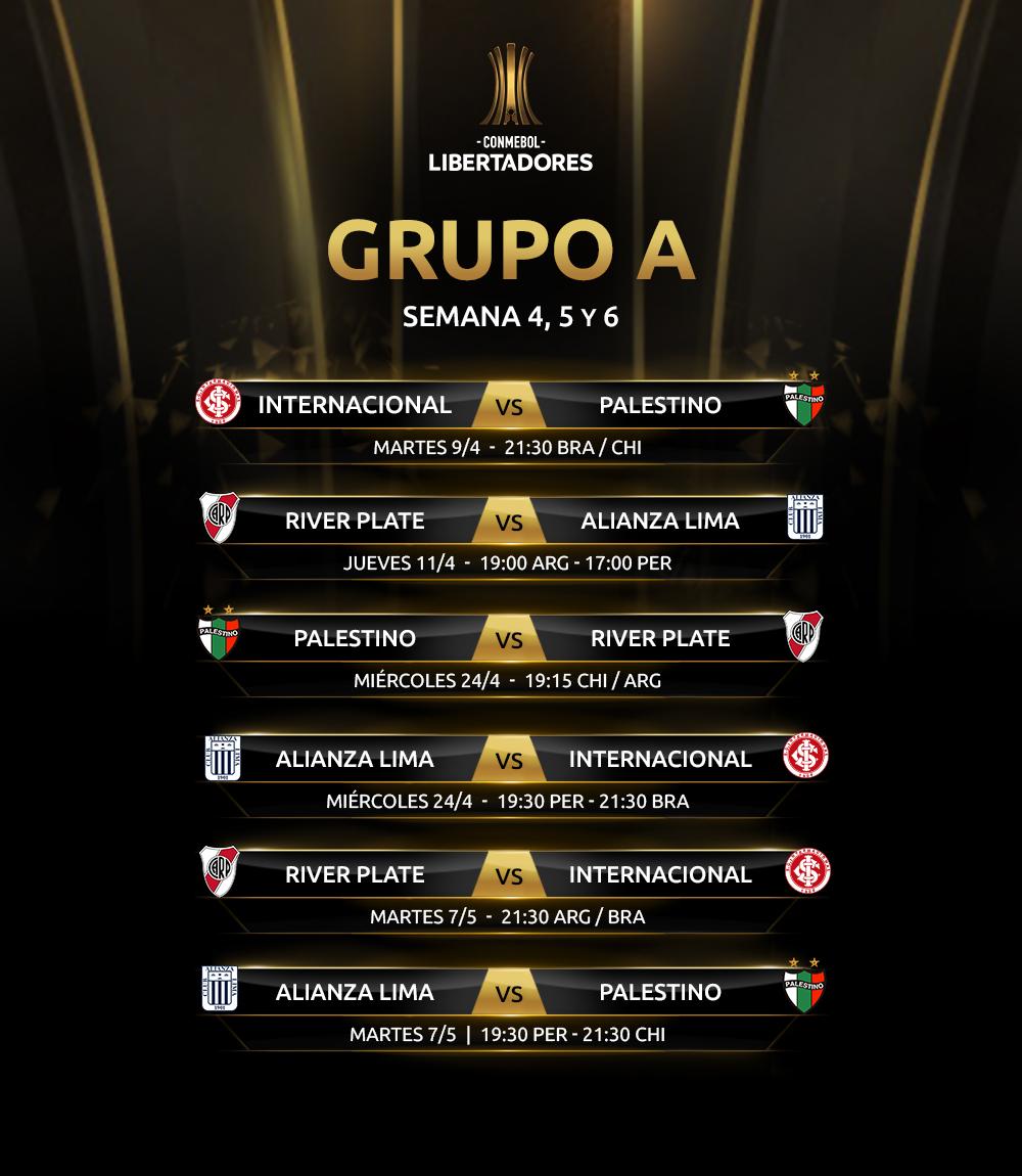 Fixture Grupo A