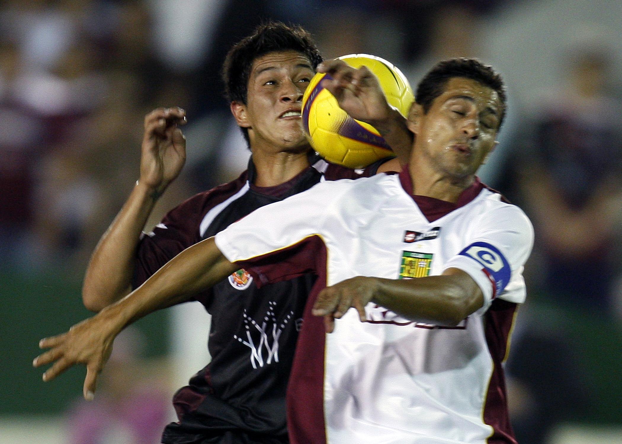 AFP German Cano Lanus CONMEBOL Libertadores
