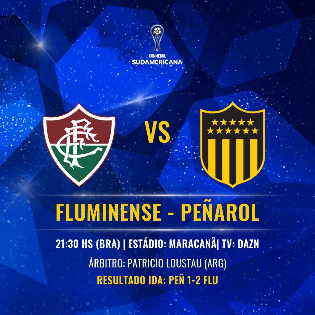 Placa Fluminense x Peñarol