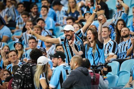 Torcida do Grêmio na Libertadores