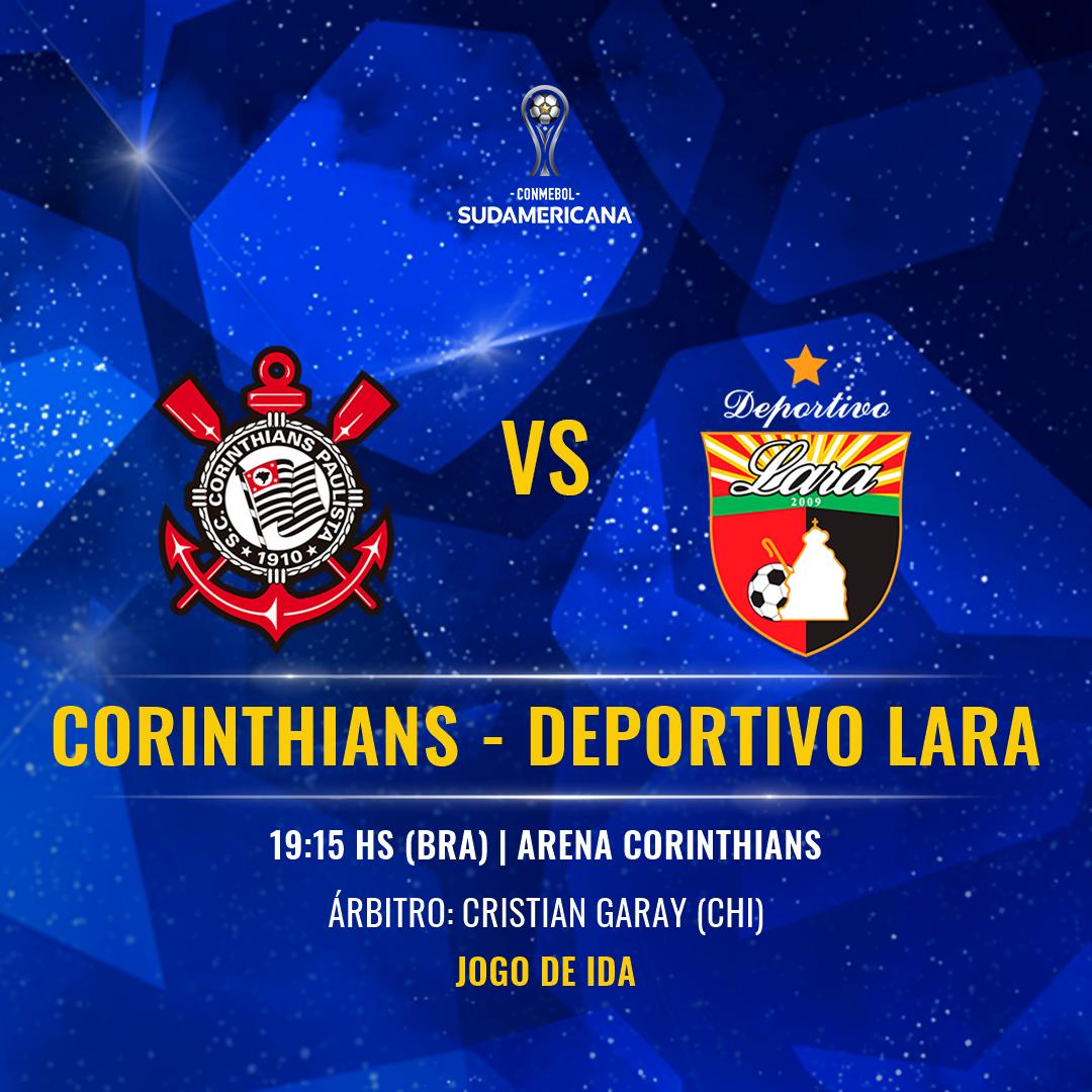 Corinthians vs Deportivo Lara