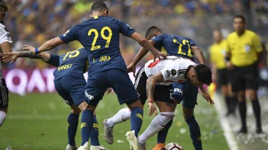 AFP Boca River Copa Libertadores 2018