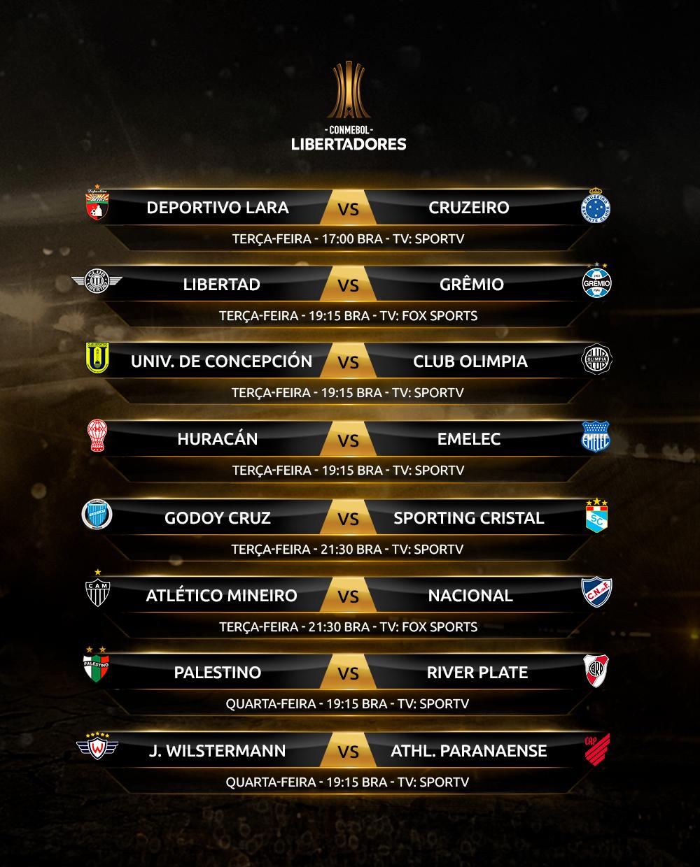 Rodada 5 - Libertadores (1)