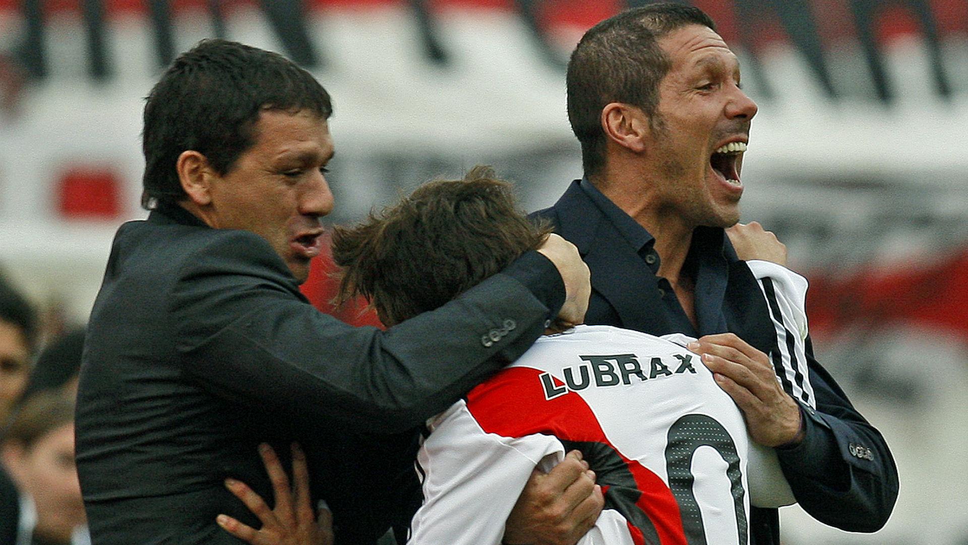 AFP Diego Simeone River Plate Superclásico