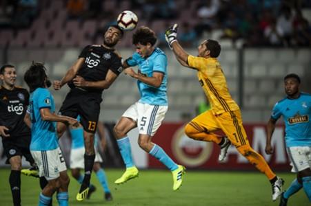 Cristal x Olimpia - Libertadores