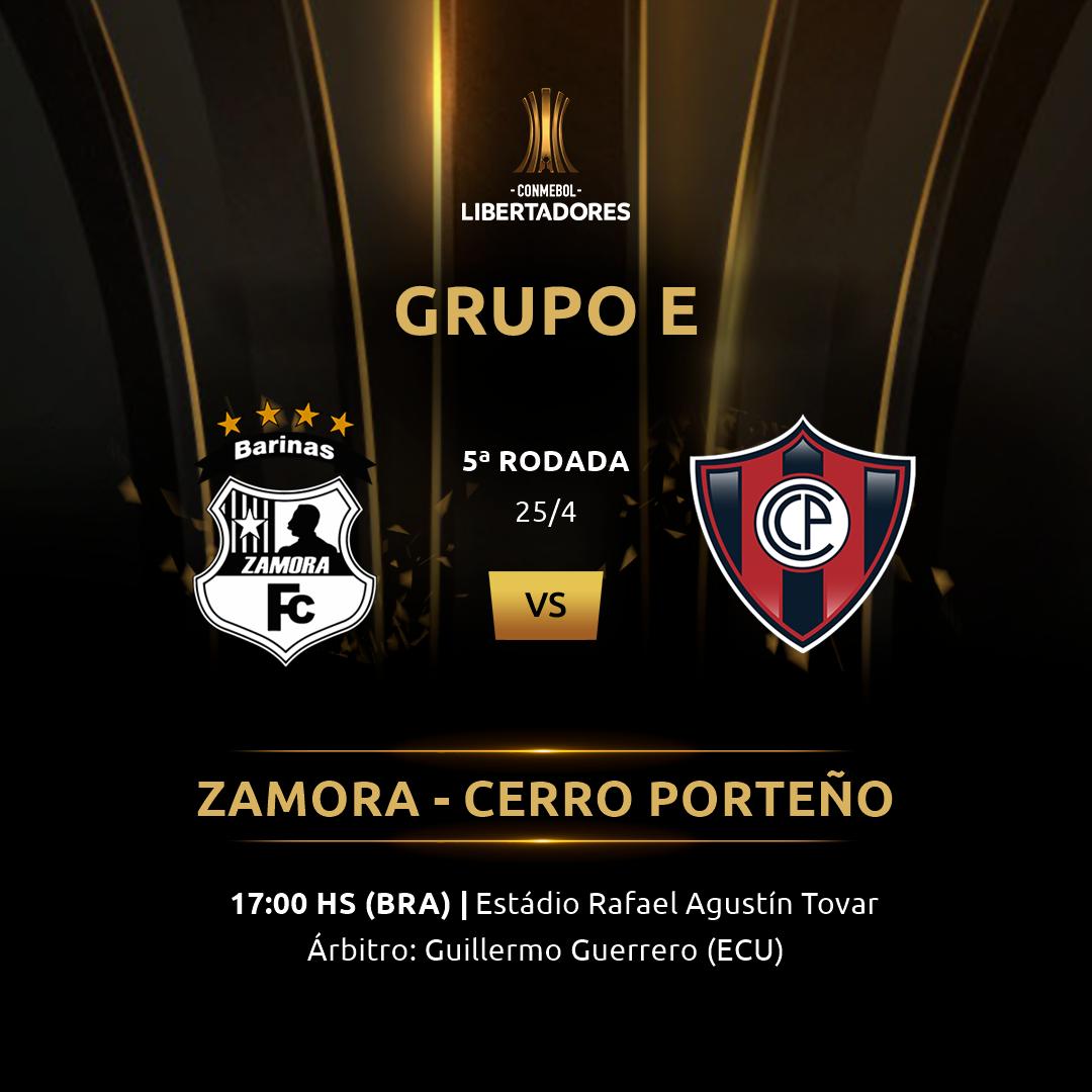Zamora vs Cerro Porteño