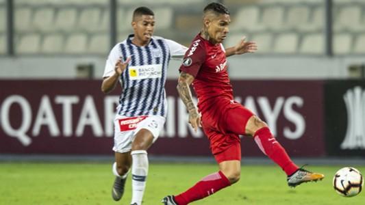 Paolo Guerrero AFP Copa Libertadores 2019
