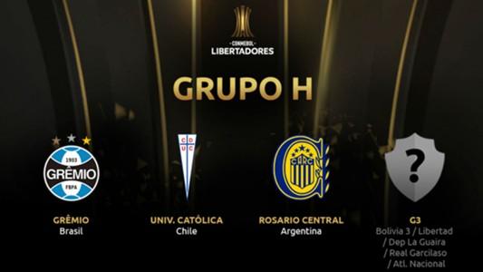 Grupo H Copa Libertadores 2019