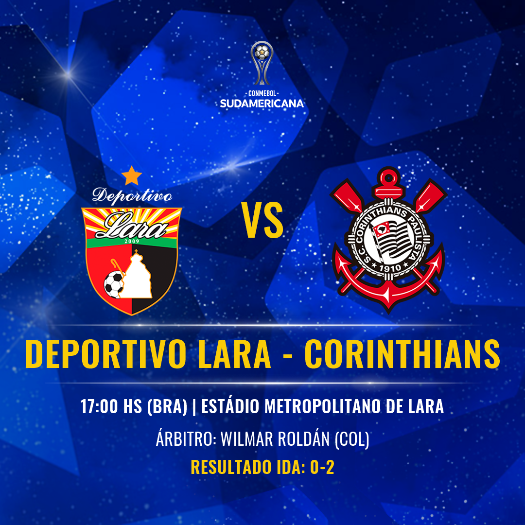 Deportivo Lara vs Corinthians