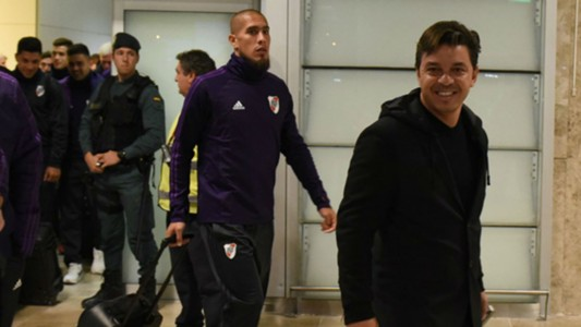 River llegada Madrid Copa Libertadores 2018