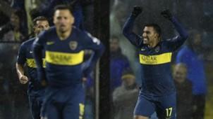 AFP Boca Juniors-Libertad Copa Libertadores Wanchope Abila