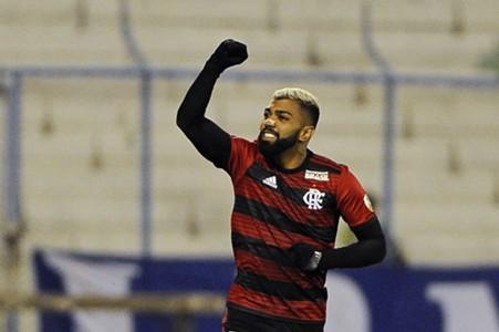 AFP Gabriel Barbosa Flamengo Copa Libertadores 2019