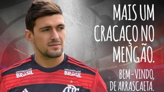 De Arrascaeta Flamengo