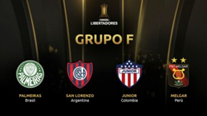Grupo F Palmeiras San Lorenzo Junior Melgar