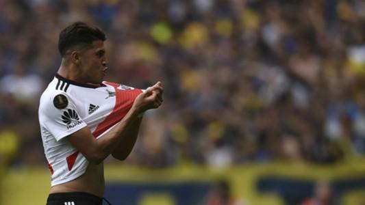 AFP Boca Juniors River Plate Copa CONMEBOL Libertadores 11112018 Exequiel Palacios