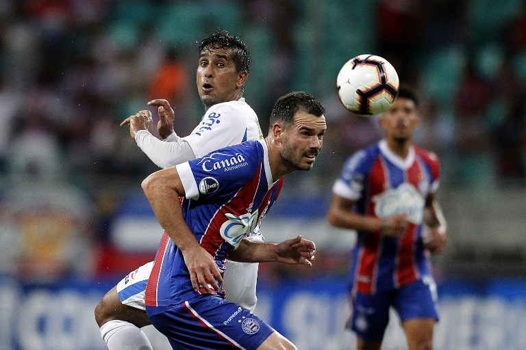 AFP Bahia Liverpool Lucas Fonseca Sul-Americana