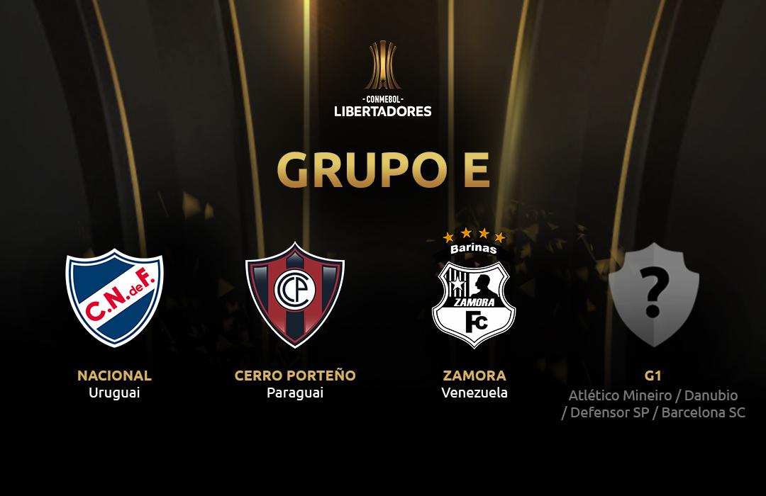 Grupo E Libertadores 2019